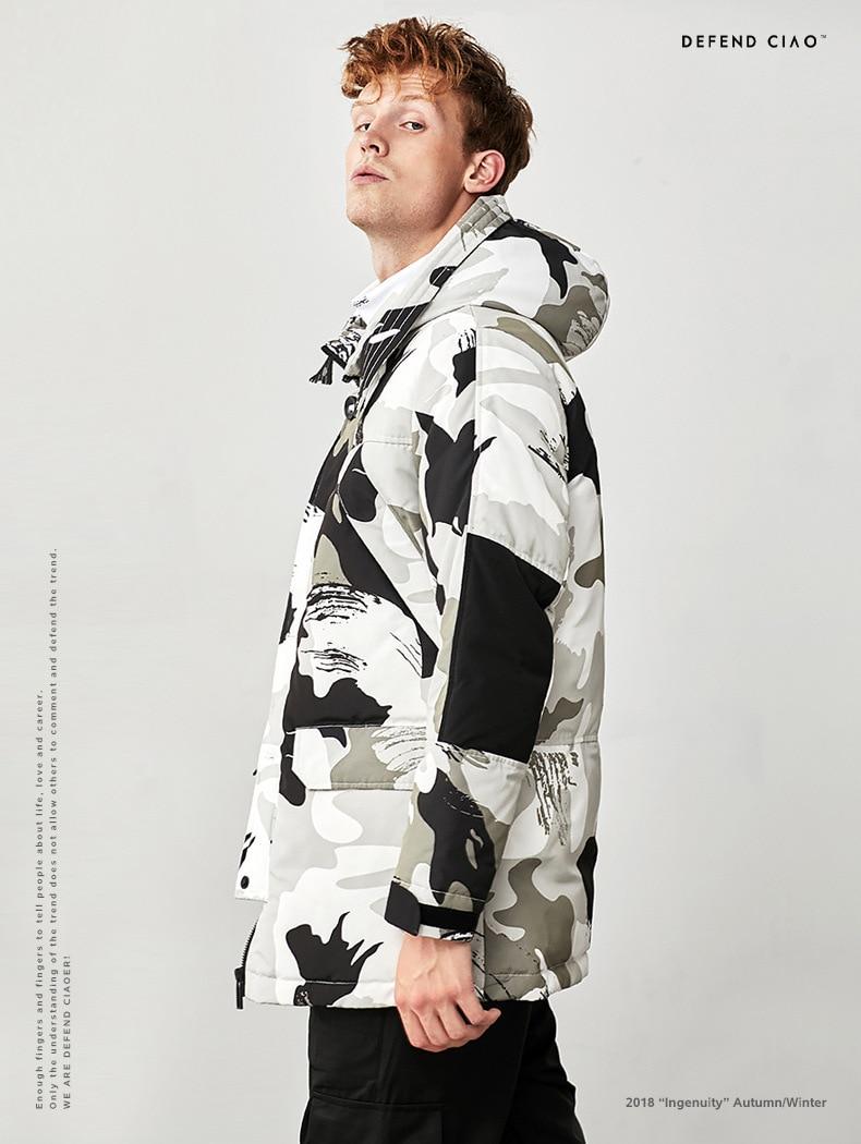 90 Chaud Hommes Bas Duvet Veste Xd687 Canard Vêtements Marque Épais Hiver Top Le black Mode Blanc Vers White De Longue Camo Qualité YqwSxPpCYO