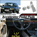 Car Accelerator Pedal Pad / Cover of Original Factory Sport Racing Model Design For BMW 7 Series E32 1986~1994 Tuning