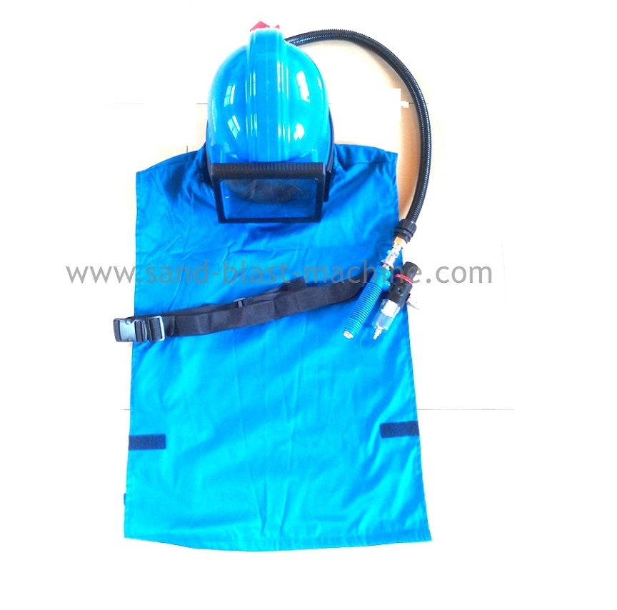 sand blasting helmet with temperature regulator  sandblast mask-in Power Tool Accessories from Tools    1