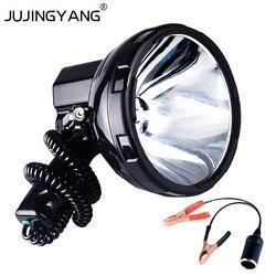 Супер яркий 12V 220W HID H3 Xenon портативный прожектор для охоты, кемпинга, автомобиля, 35 W/55 W/65 W/75 W/100 W/160 W прожектор