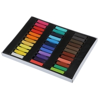 36 Color Hair Chalk Hair Color Pencils Toxic Temporary Salon Kit Pastel With Box