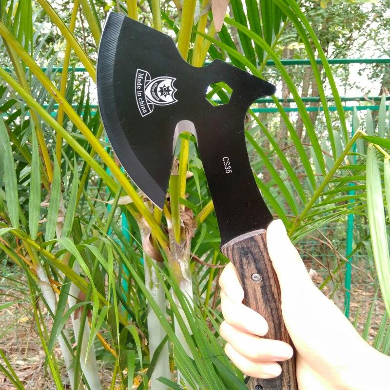 Ehrlich Tragbare Outdoor Camping Ax 360g Ultraleicht Picknick Kochen Machete Überleben Tactical Tomahawk Hand Werkzeuge Mit Nylon Mantel 100% Hochwertige Materialien Handwerkzeuge Axt