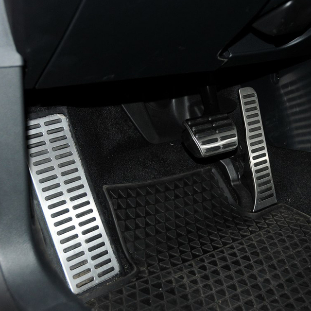 Gás do carro do Freio Pedal Resto Pedais Do Carro para Volkswagen VW Golf 5 6 MK5 MK6 Jetta MK5 Scirocco CC TIGUAN Toureg para Skoda Octavia A5