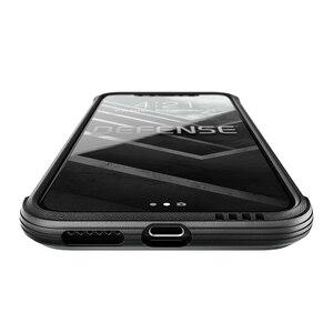 Image 4 - X ドリア防衛ルクス電話ケース iphone XS × ミリタリーグレードテストアルマイトアルミ保護ケースカバー iphone ×