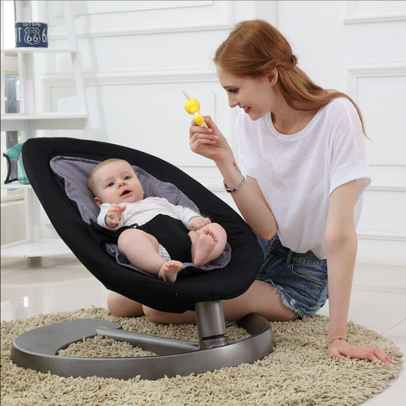 Baby Rocking Chair Baby Swing For Children Aged 0-7 Swing Baby Baby Cradle