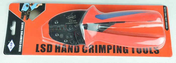 S-0125B new design hand crimping tool for crimping open barrel terminals