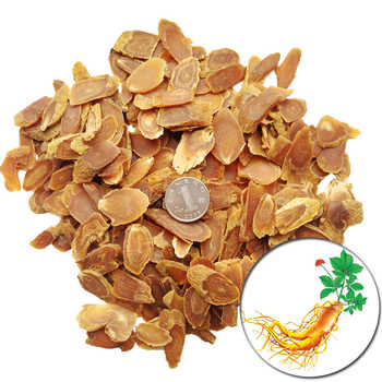 Dried Korean Red Ginseng Root Slices 6 Years Root - DISCOUNT ITEM  30% OFF All Category