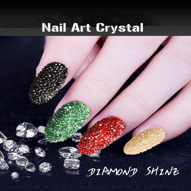 Diamond Rhinestones Crystal Nail Sticker