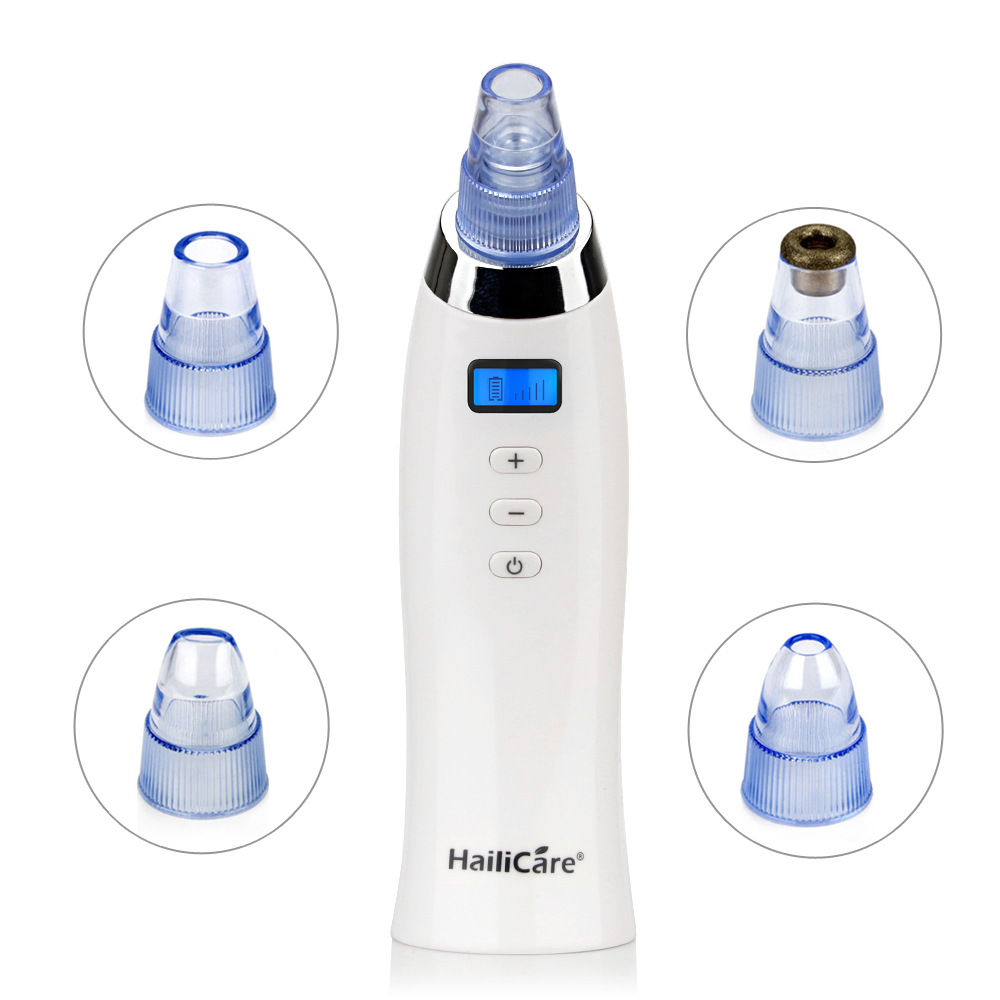 Vacuum Pore Cleaner Vacuum Blackhead Remover Blackhead Suction Machine Comedo Microdermabrasion Face Pore Cleaning Skin Care