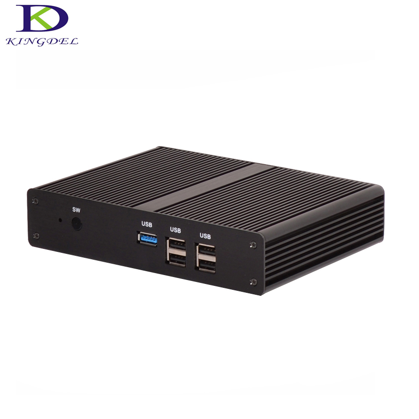 Fanelss Small PC HTPC Intel Celeron J1900 Quad Core Intel HD Graphics HDMI,VGA,LAN 1920*1080PC NC590