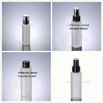 100ml frosted PET BOTTLE black lid/pump/ mist sprayer for lotion/emulsion/water/mist sprayer /skin care packing plastic bottle - DISCOUNT ITEM  0% OFF All Category