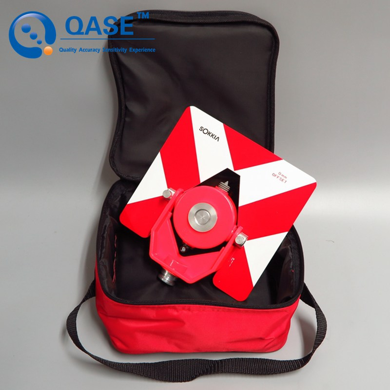 Single Prism package AK17 for SOKKIA Red Color sokkia red prism and target single tilt prism