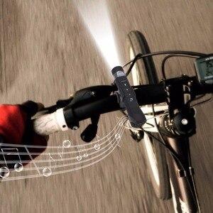 Image 5 - Kebidu 2017 البسيطة usb قابلة برايت مضيا مشغل الموسيقى اللاسلكية بلوتوث المتحدث الدراجة الدراجات ضوء