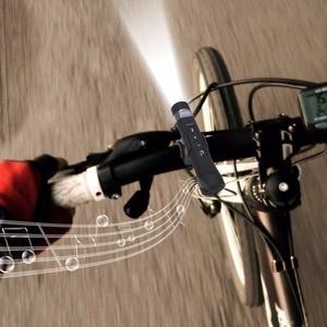 Image 5 - kebidu 2017 Mini USB Rechargeable Bicycle Bright LED Flashlight Music Player Wireless Bluetooth Speaker Bike Cycling Light
