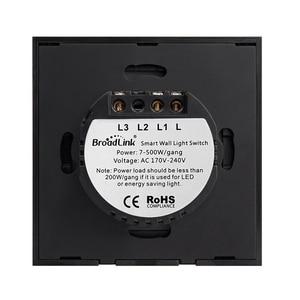 Image 5 - Original Broadlink TC2 EU Standard RF Touch Panel Switch 123 Gang RM PRO Smart Home Universal Wireless WiFi RF Remote Control