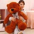 100 CM gigante oso de peluche juguetes de peluche de felpa Ted barato Pirce regalos para los niños novias navidad P0209E
