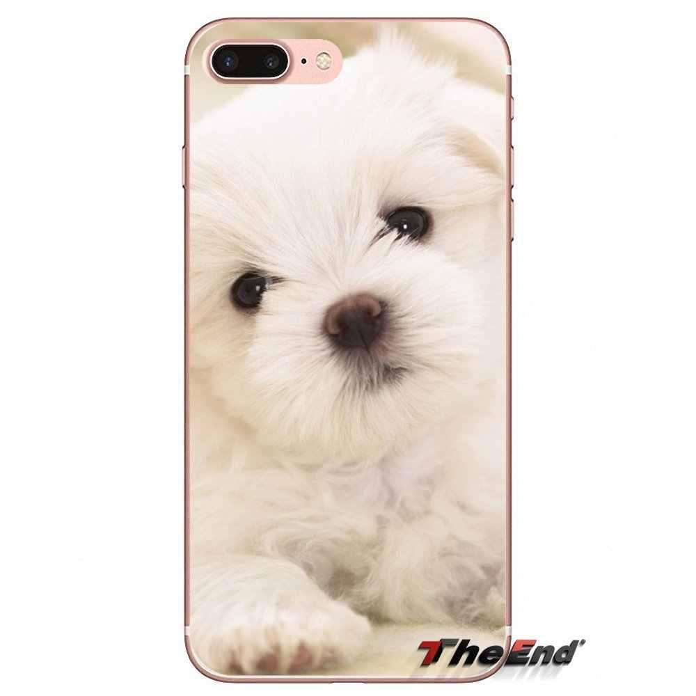 Для Xiaomi Redmi 4A 4X3 S Note 3 4 5 Pro 5A mi 3 mi 4 mi 5 mi 6 mi A1 Max 5X 6X мягкий прозрачный чехол I Love My Мальтийская болонка puppies