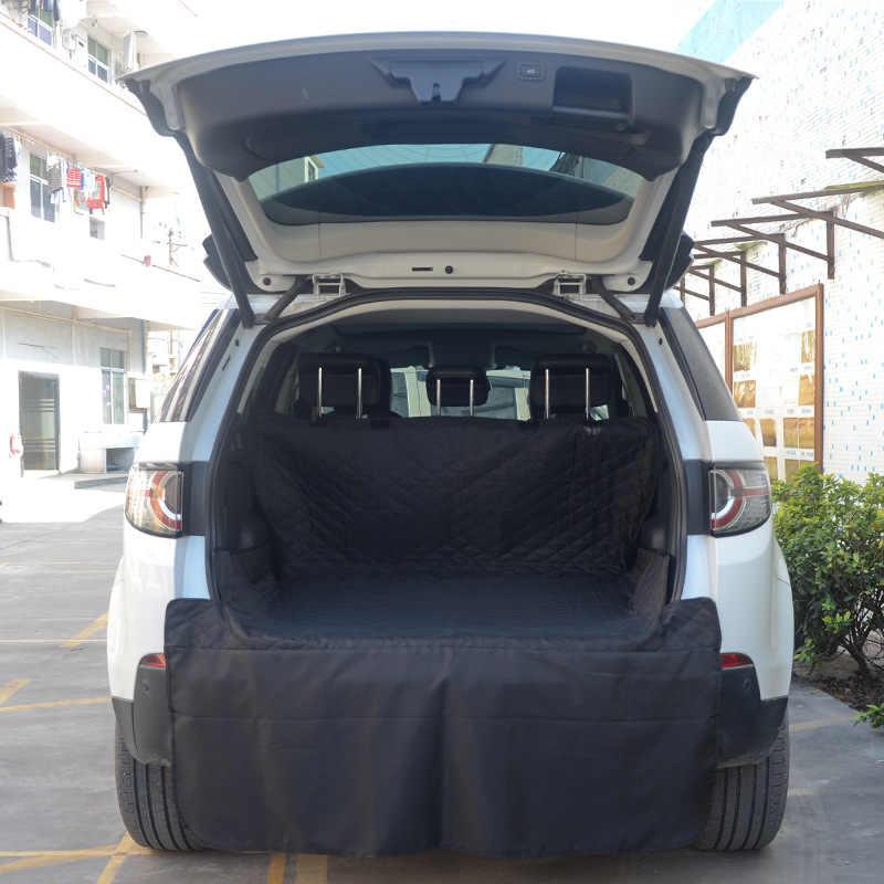Mata samochodowa dla zwierząt czarny długi bagażnik dla psa podkładka dla zwierząt samochód wodoodporny antypoślizgowy Pad poduszka bagażnika mata do wyłożenia podłogi bagażnika wyposażenie wnętrz