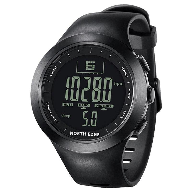 Digital Watch Clock Altimeter NORTHEDGE Fishing Diver Climbing Outdoor Multifunction-Hours