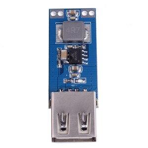 Image 2 - כוח בנק Boost ממיר מטען מודול DC DC 2.5 V 5.5 V כדי 5V 2A שלב עד לוח USB רכב נייד