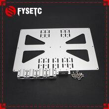 Части 3D-принтера нагревательная платформа Z-axis с поддержкой SC8UU алюминиевая пластина для Prusa I3/Wanhao опорная пластина V3 300 Тепловая панель