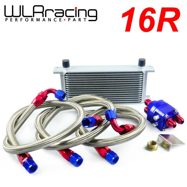 WLRING STORE- UNIVERSAL 16 ROW AN10 ENGINE TRANSMISS OIL COOLER KIT +FILTER RELOCATION BLUE видеоигра бука saints row iv re elected