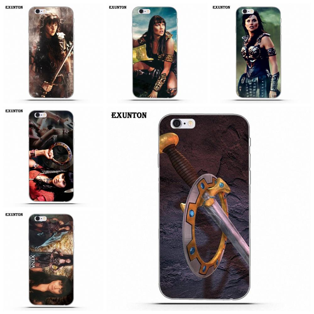 Xena Warrior Princess For Apple IPhone 4 4S 5 5C SE 6 6S 7 8 Plus X Soft Silicone TPU Transparent Coque Case
