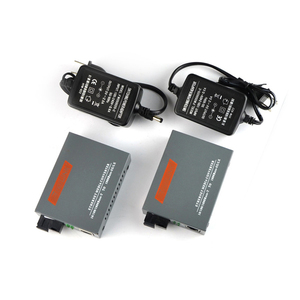 Image 4 - 1 쌍 HTB GS 03 A/B 10/100/1000M 광섬유 트랜시버 단일 모드 단일 광섬유 SC 포트 20KM 고속 이더넷 미디어 컨버터