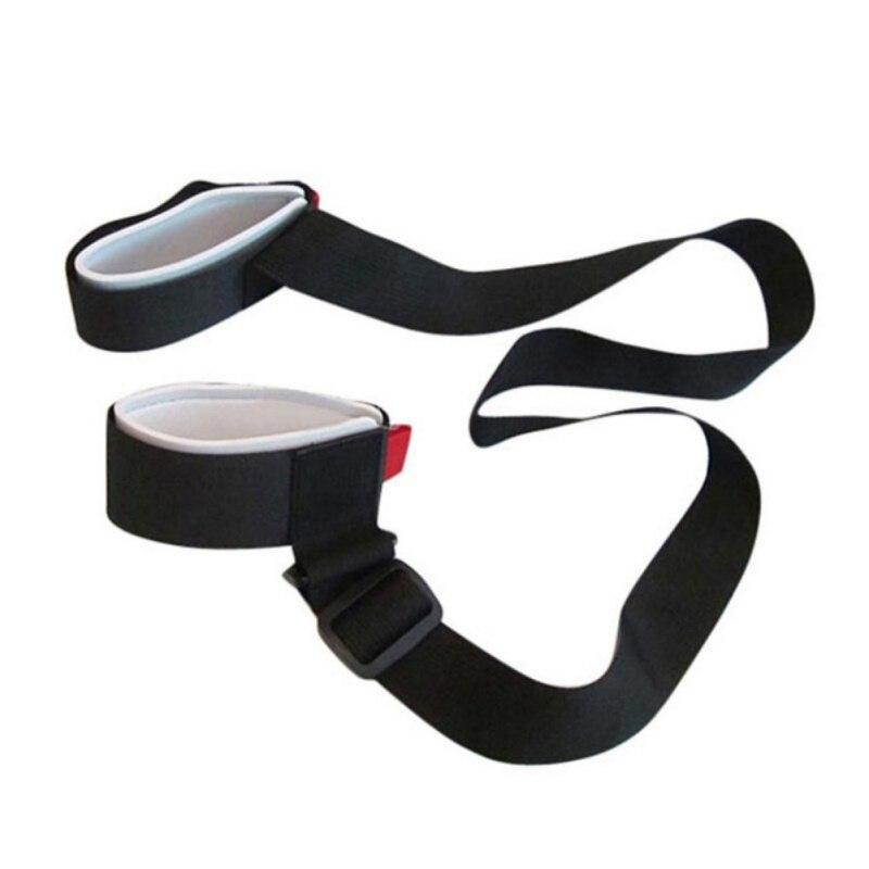 Новый Регулируемая Лыжный Сноуборд легкий рюкзак беговых лыж полюс плеча стороны перевозчика ресниц ручка двойной борт ремень сумка