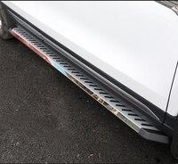 Plattform Trittbrett Seite Schritt FIT für VW Volkswagen Touareg 2011-2018 Nerf Bar 2 PCS