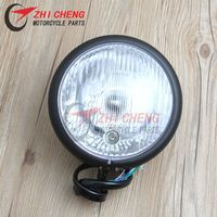 5.45'' Motorcycle Modified universal metal Headlamps Front Headlight For Harley Sportster XL 883 1200 X 48 XL883 XL1200