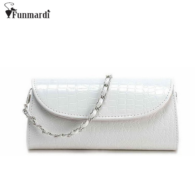 614eef2eda New arrival summer CROCO design PU leather Clutch bags chain small Evening  Bags fashion trendy messenger