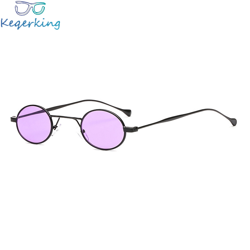 Women's Glasses Careful High Quality Sunglasses Uv400 Oval Metal Frame Classic Brand Fashion Women For Men Retro Style Black Sun Glasses Women Ks-47