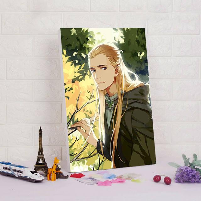 Tienda Online DIY pintura digital el Señor de los anillos Legolas ...