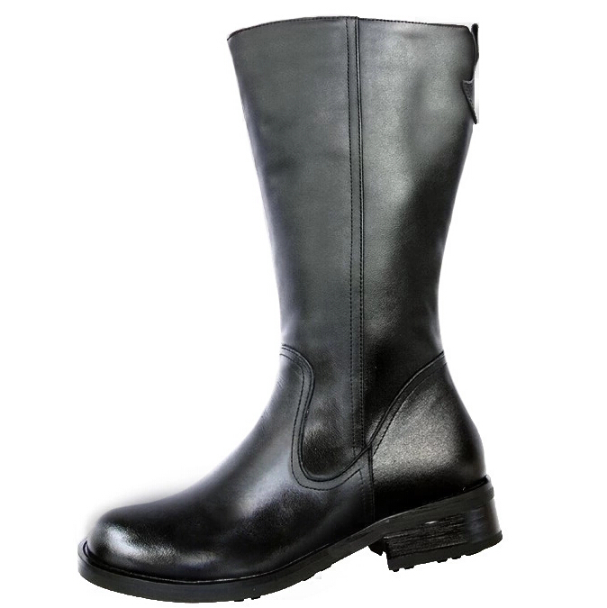 Aliexpress.com : Buy Genuine Leather Men Long Boots Winter Knee