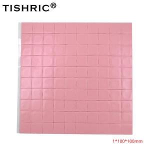Heatsink Cooler CPU Pc-Fan Thermal-Pads GPU Conductive TISHRIC Red 1mm 100--100--1mm