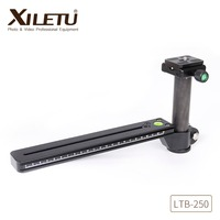 Xiletu LTB 250 Stable Birding Telephoto Lens Bracket Connecting Tripod Monopod Ball Head With Clamp Plate Length330