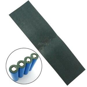 Image 3 - 100 개/몫 18650 배터리 양극 중공 절연 패드 지적 보리 종이 가스켓 Whosale & Dropship