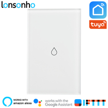 Lonsonho Wifi Smart Water Heater Switch Boiler Touch Panel Tuya Life App Works With Alexa Google Home Mini IFTTT
