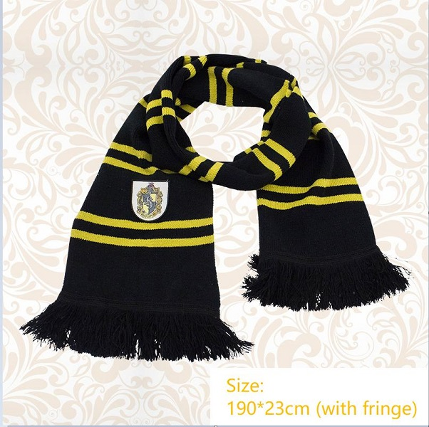 Hufflepuff scarf 01