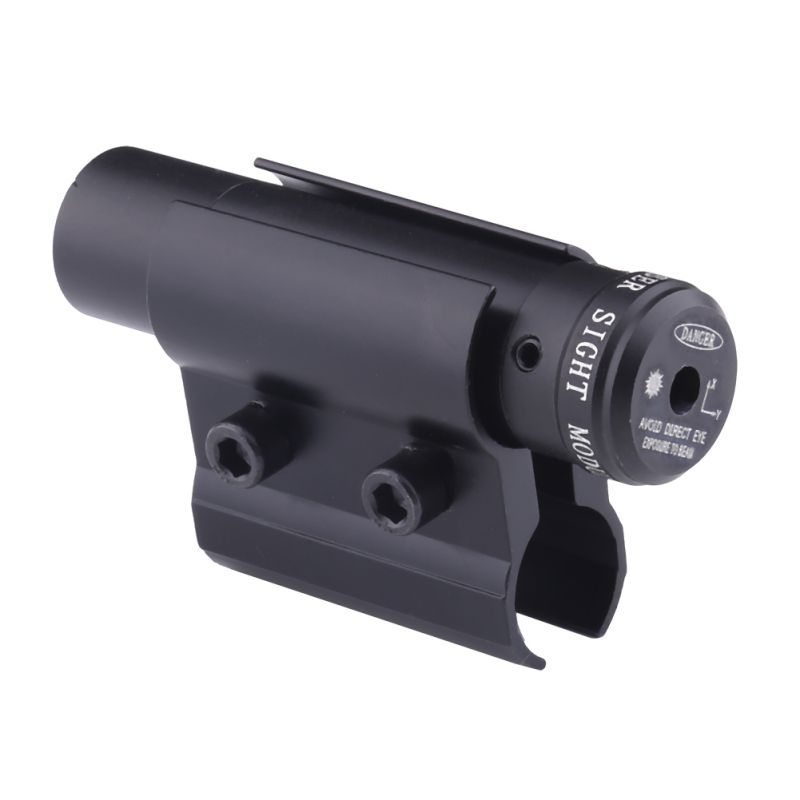 Tactical Red Dot Laser Sight and Scope For Gun Rifle Weaver Mount Rail For Airsoft Hunting 1Set