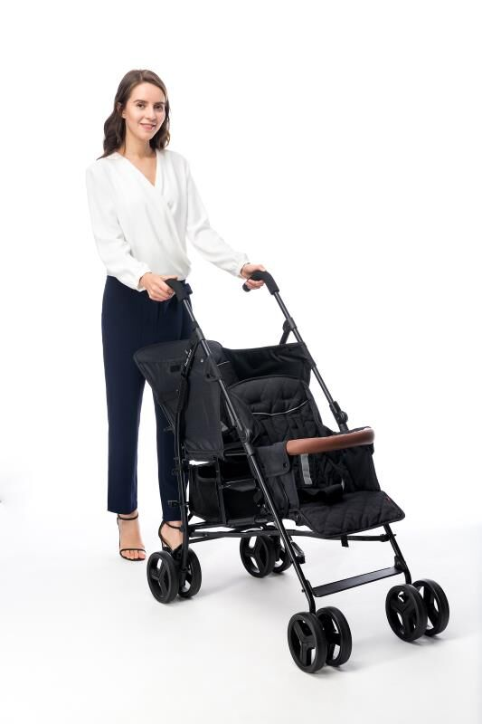 9.6kg Twin baby stroller front and rear seat second child artifact double big child stroller lightweight folding can sit