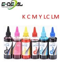 E deal Universal Refill Ink kit for Epson Canon HP Brother Lexmark DELL Kodak Inkjet Printer CISS Cartridge Printer Ink