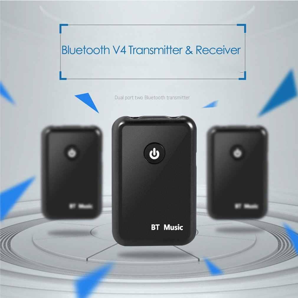 Мини Bluetooth V4.0 передатчик и приемник беспроводной A2DP аудио 3 5 мм разъем Aux адаптер