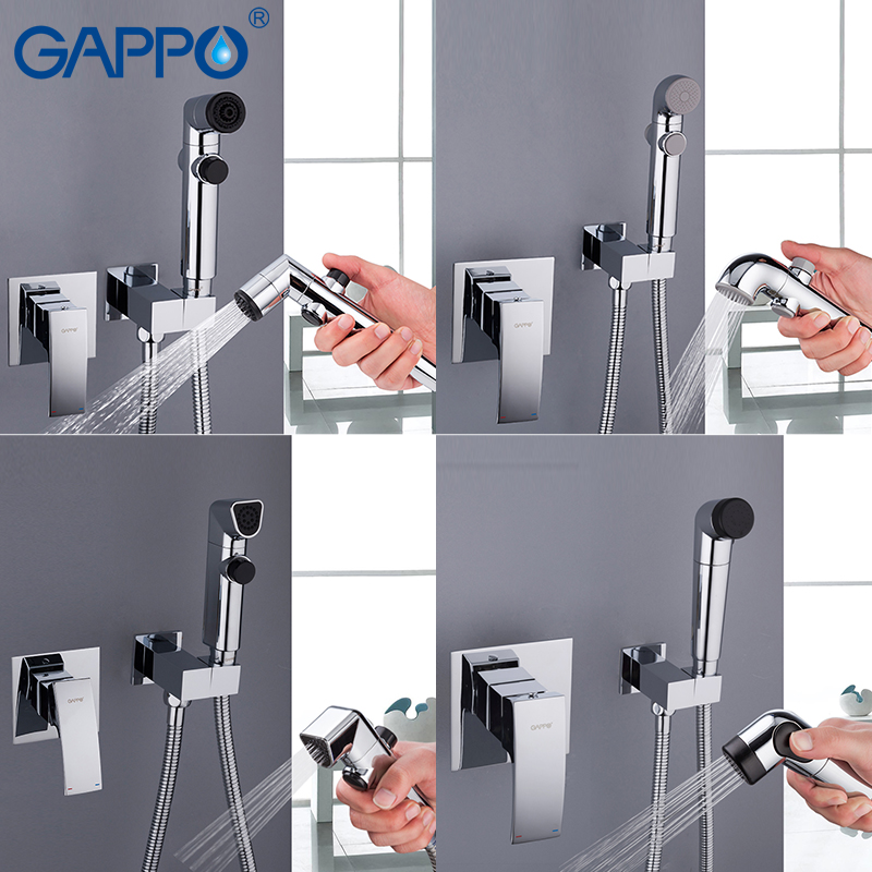Bathroom Fixtures Bidets & Bidet Parts Adaptable Gappo Bidets Toilet Hand Shower Enema Shower Head Washer Tap Mixer Wall Mount Muslim Bidet Spray Faucet Non-Ironing