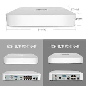 Image 4 - 4CH 8CH 4MP POE NVR Kit CCTV Camera System H.265 HD 4MP Security IP Camera 200M POE Distance 52V Video Surveillance System Set