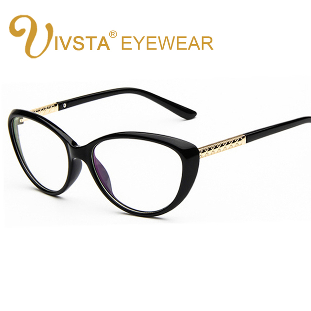 32b7854a1a IVSTA CHN3L Style Women Retro Cat Eye Eyeglasses Brand Spectacles Glasses  Optical Frame Vintage Computer Reading