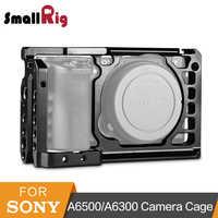 SmallRig aluminiowa klatka operatorska dla Sony A6500/A6300 ulepszona wersja ochronna lustrzanka cyfrowa Rig dla Sony A6500-1889