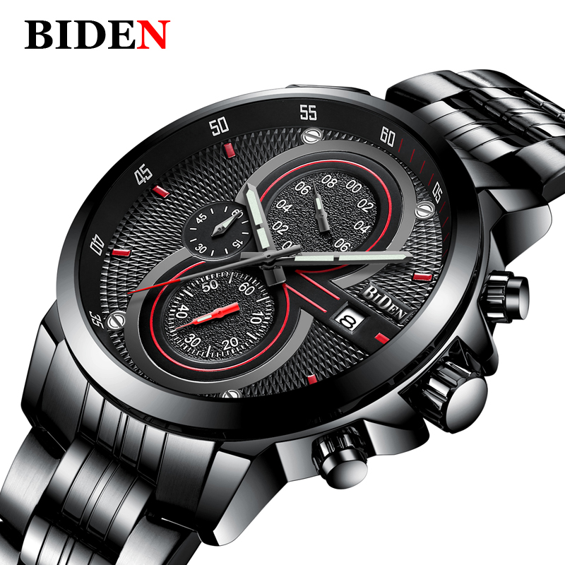 Top Brand Luxury Wrist Watch Men Military Army Sport Male Clock Steel Strap Mens Watches Business Quartz Clocks Reloj hombre stainless steel men chronograph watches luxury brand sport waterproof quartz watch men military wrist watch army men clock reloj