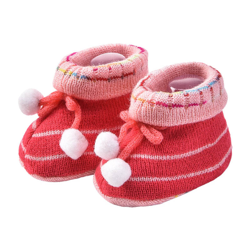 Baby Shoes First-Walker Anti-Slip Toddler Soft Girls Autumn Boys Winter High-Ankle Warm